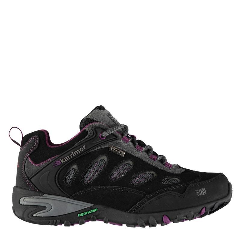 Boty Karrimor Ridge WTX Ladies Walking Shoes Charcoal