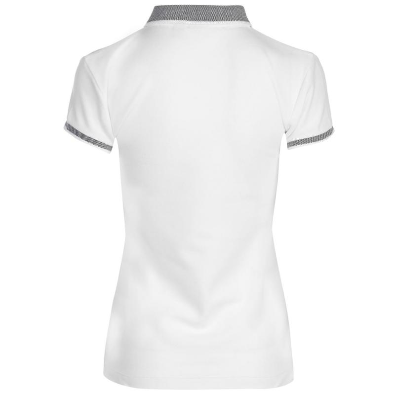 Polokošile LA Gear Tipped Polo Shirt Ladies White