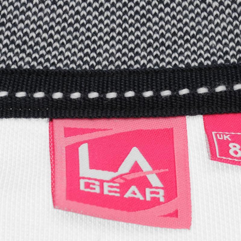 Polokošile LA Gear Tipped Polo Shirt Ladies White