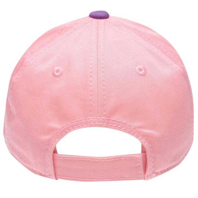 Lonsdale TT Cap Junior Pink/Purple