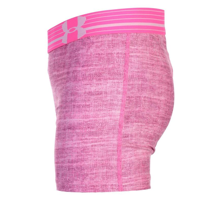 Under Armour Shorty Shorts Junior Girls Purple