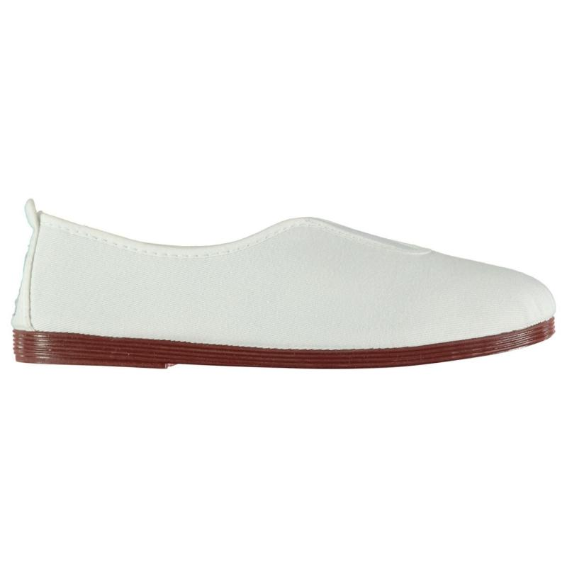 Obuv Flossy Califa Slip On Shoes White
