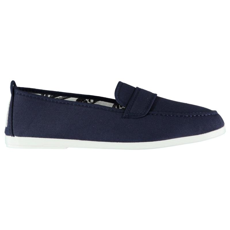 Flossy Hobby Loafers Navy