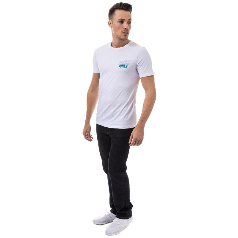 Tričko Jack Jones Mens Booster T-Shirt White