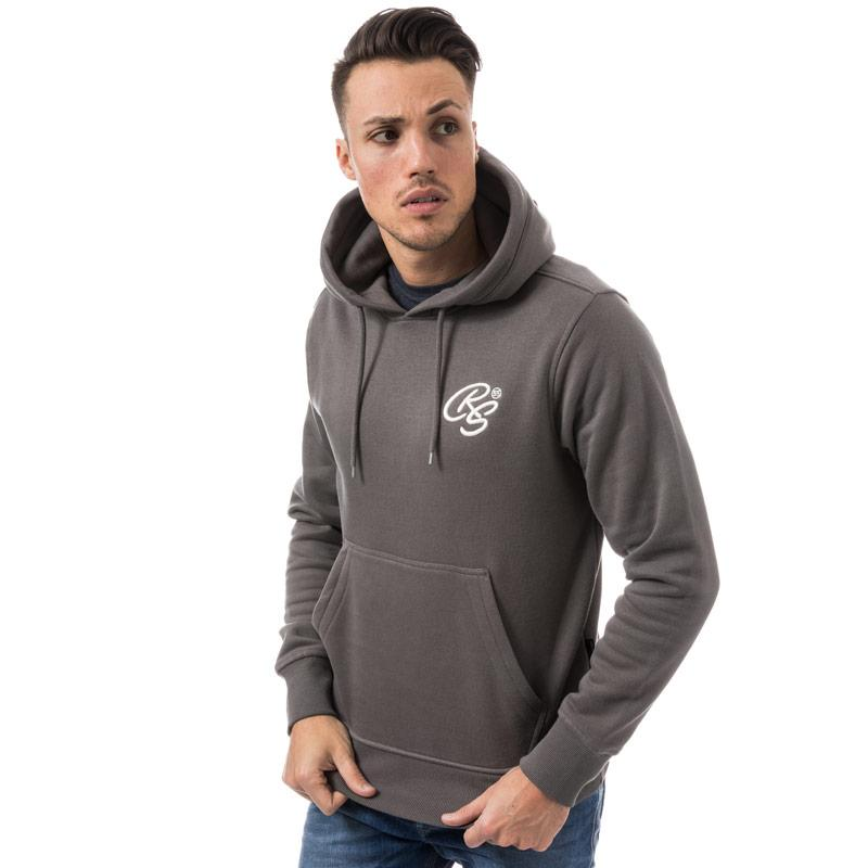 Mikina Crosshatch Black Label Mens Rangari Hoody Charcoal