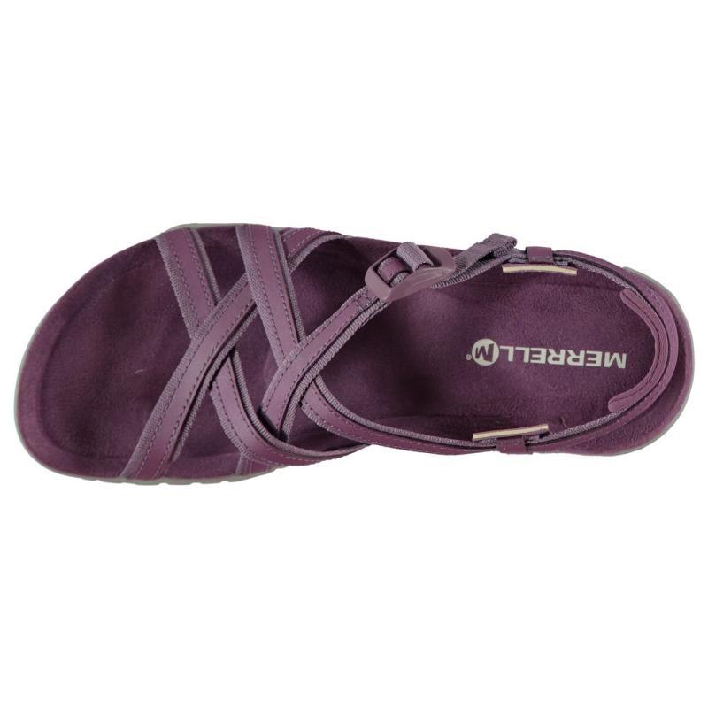 Merrell Terran Ari Lattice Ladies Sandals Very Grape