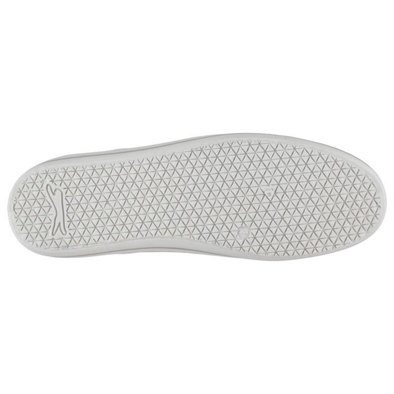 Slazenger Mens Slip On Canvas Shoes Grey Marl
