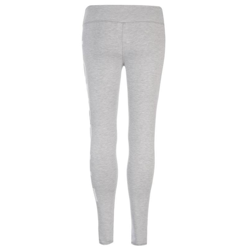 Lonsdale Leggings Ladies Grey Marl