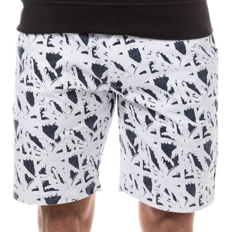 NICCE Mens OAP Chino Shorts Navy-White