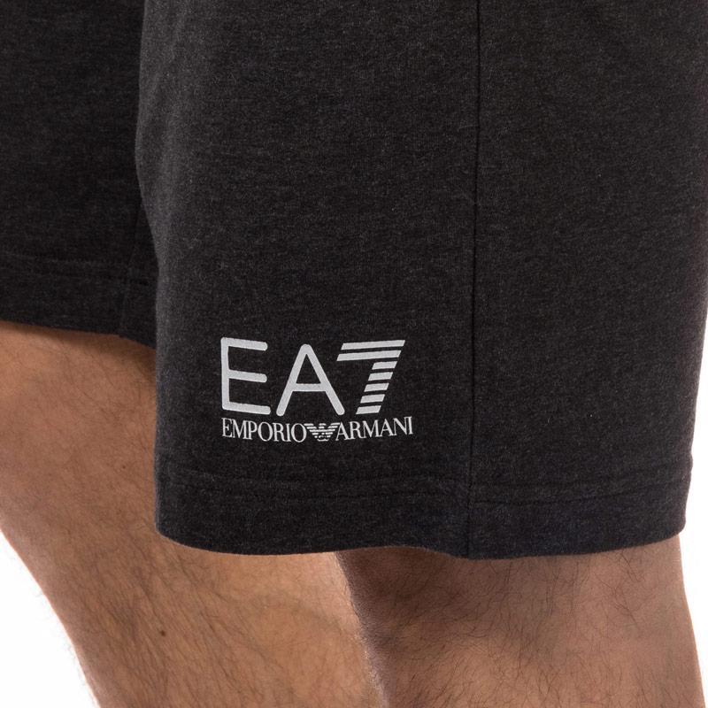 Emporio Armani EA7 Mens Train Core ID Bermuda Coft Short Charcoal Velikost - XL