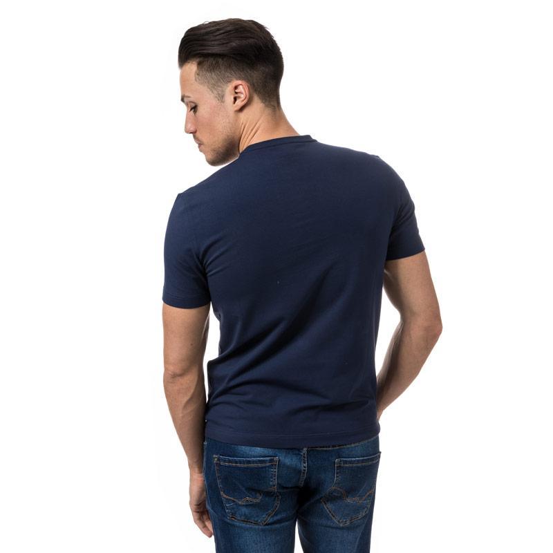 Tričko Emporio Armani EA7 Mens Train Logo Series Crew Neck T-Shirt Navy
