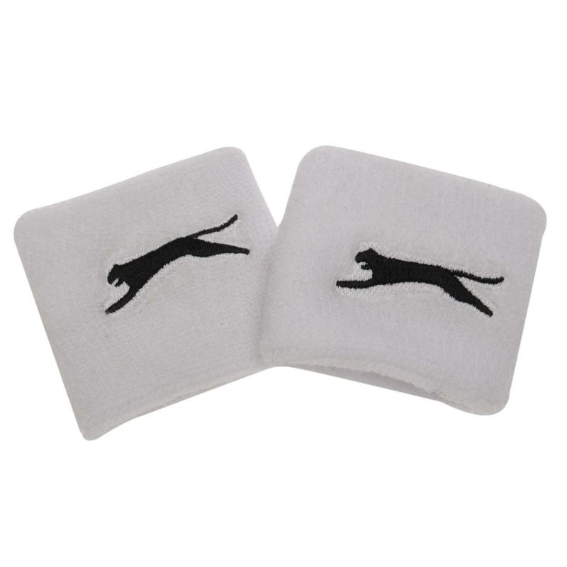 Slazenger 2 Pack Wristbands White