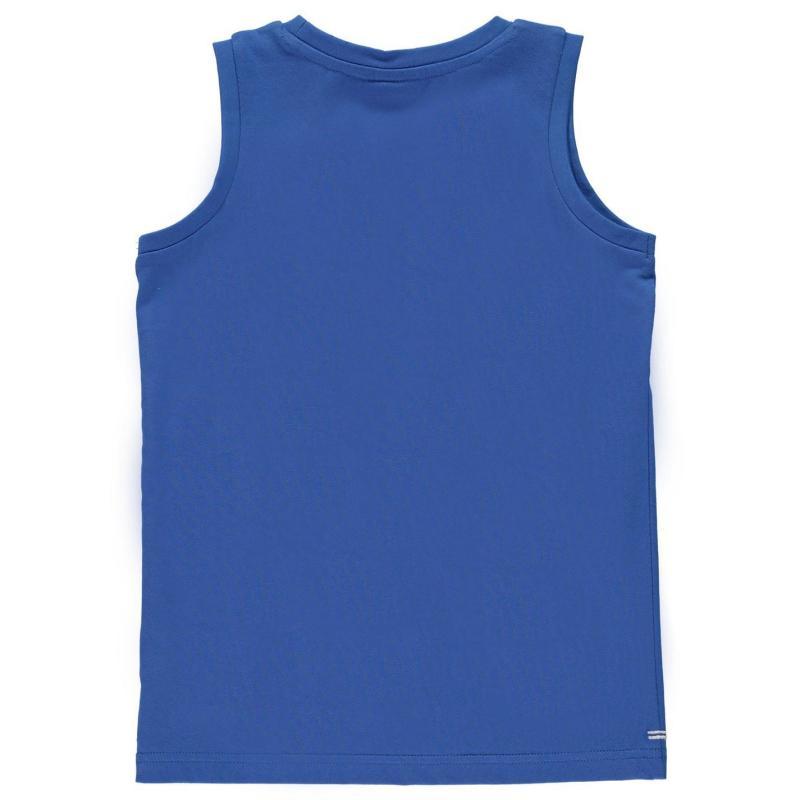 Tílko Slazenger Sleeveless T Shirt Junior Boys Royal