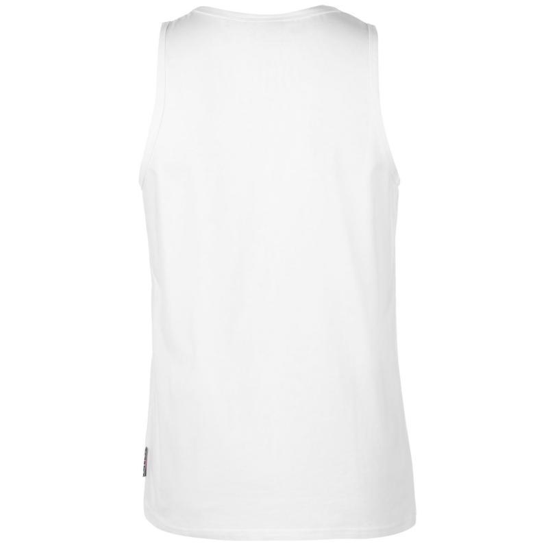 Tílko Lee Cooper Essentials Vest Mens White