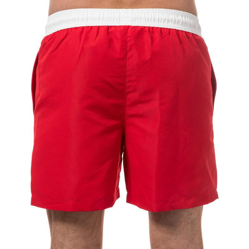 Jack Jones Mens Malibu Sack Swim Shorts Red