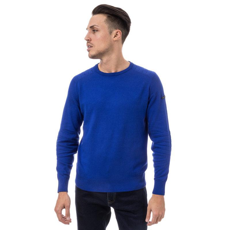 Duck And Cover Mens Portofino Knit Blue