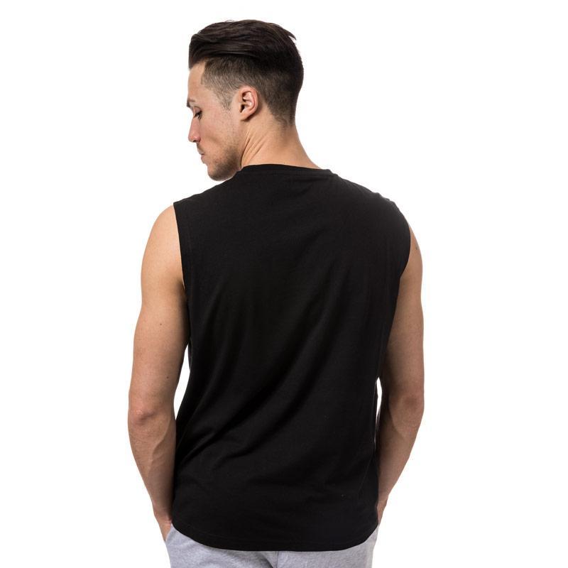 Tílko Emporio Armani EA7 Mens Train Visability Crew Neck Vest top Black