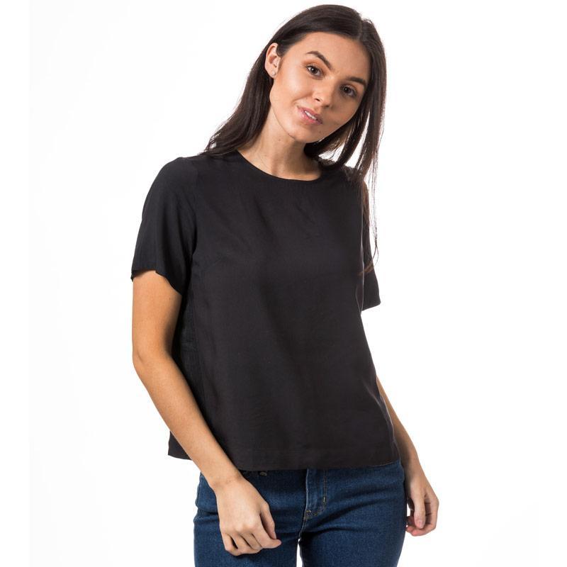 Levis Womens Darya Sporty T-Shirt Black