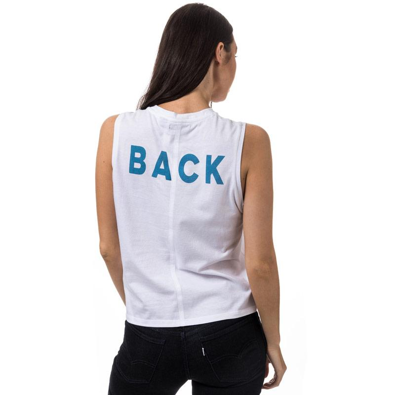 Levis Womens Line 8 Muscle Tee White