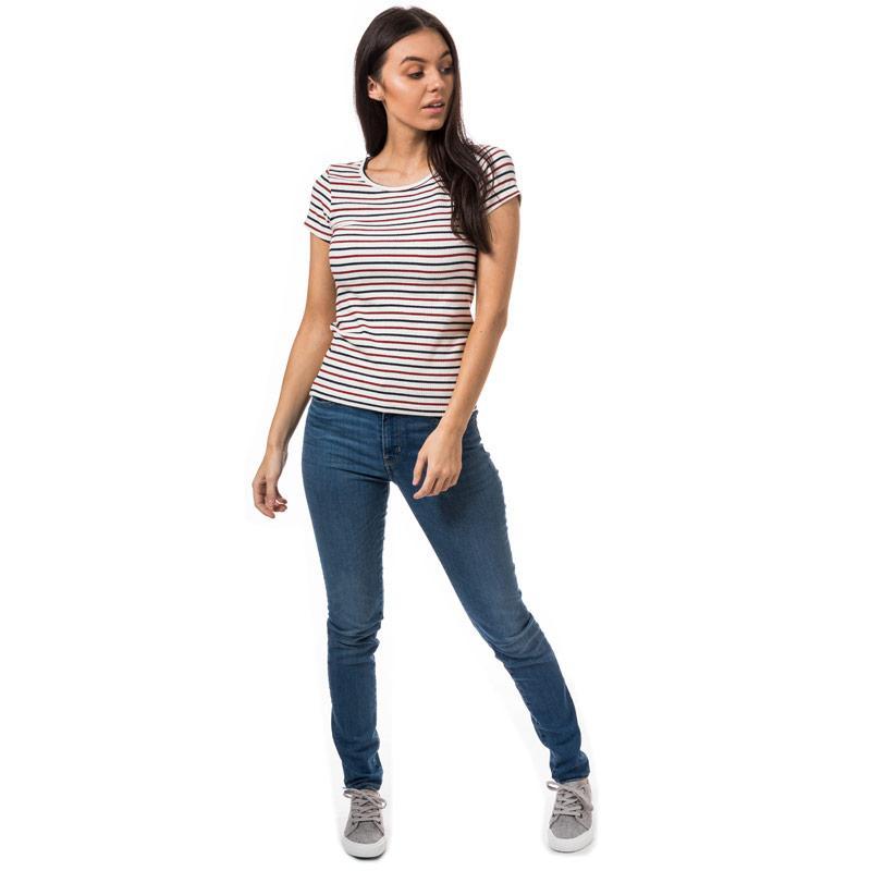 Levis Womens Vanessa Slim T-Shirt Multi colour