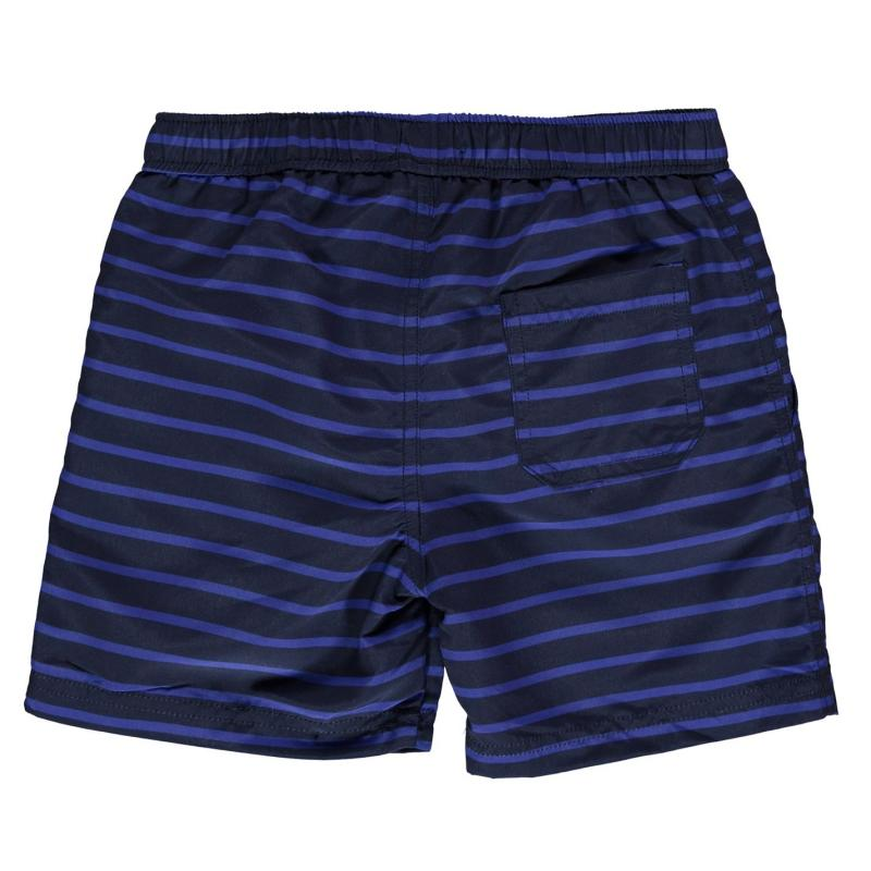 Plavky Crafted Essentials Board Shorts Child Boys Navy Dino