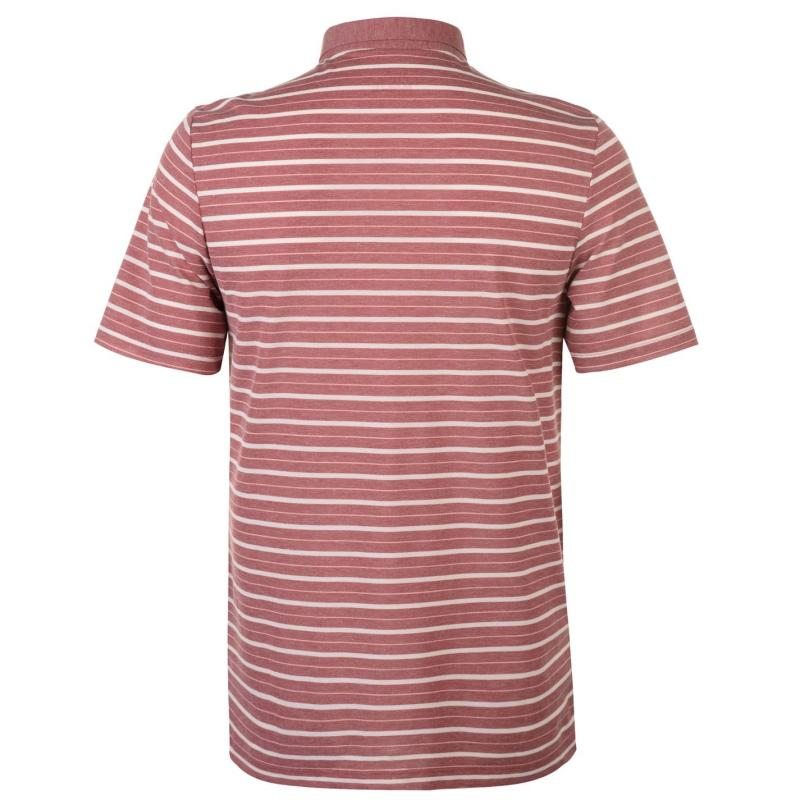 Craghoppers NL Gilles SS Polo Shirt Mens Red Earth