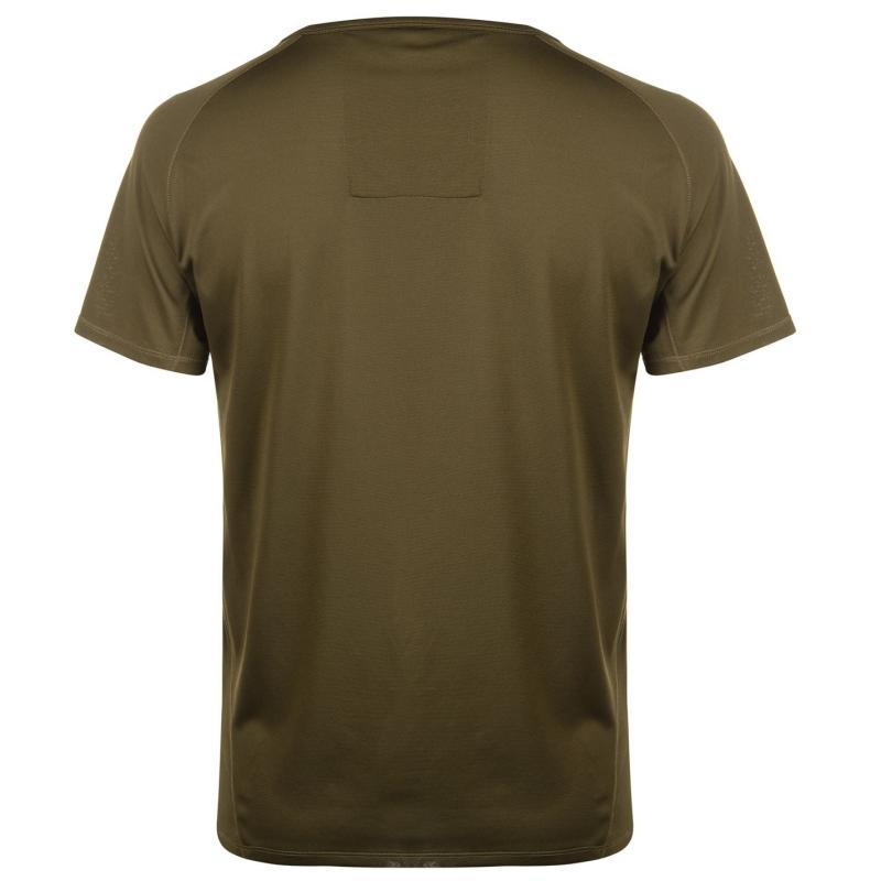 Tričko Craghoppers NosiLife Short Sleeve Base T Shirt Mens Dark Moss