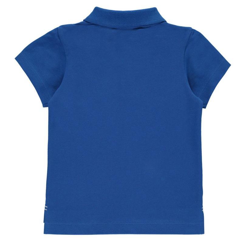 Tričko Slazenger Plain Polo Shirt Infant Boys Poppy Red