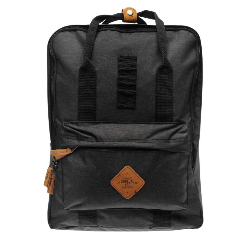 SoulCal Monterey Backpack Black