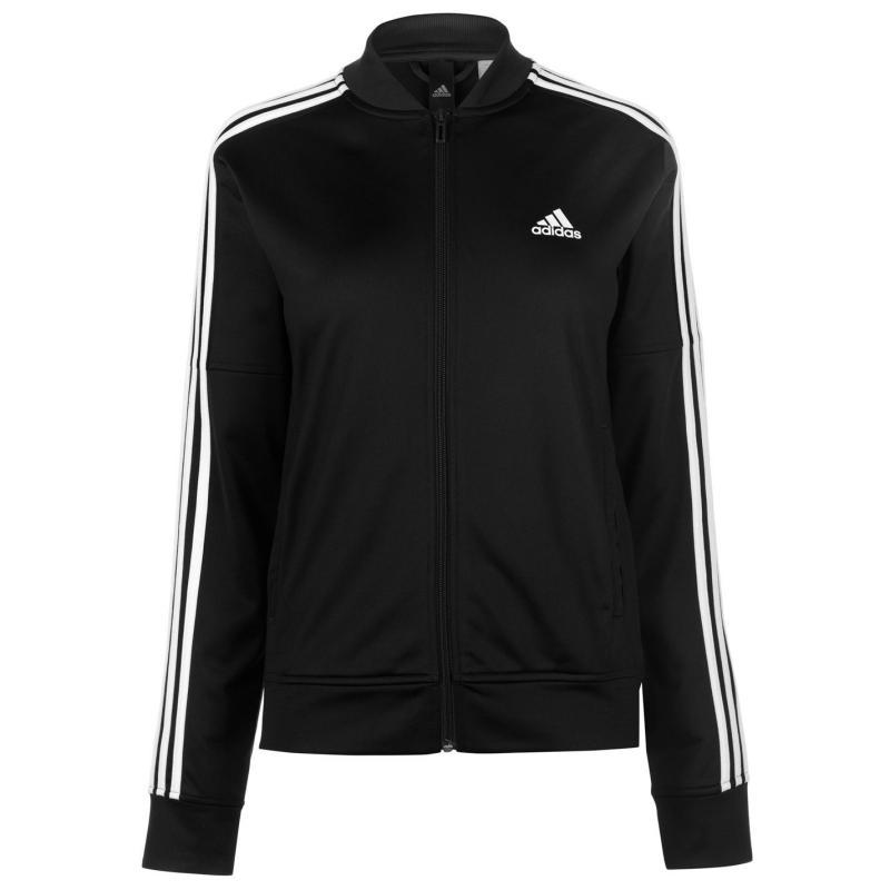 Adidas 3S Bomber Jacket Ladies Black/White