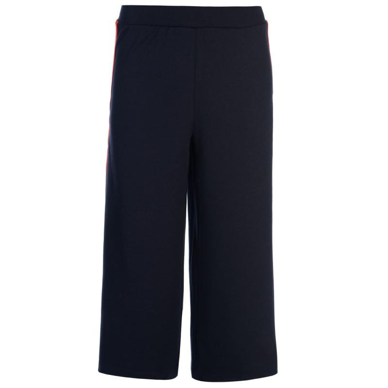 Only Brenda Culottes Navy/Red Stripe