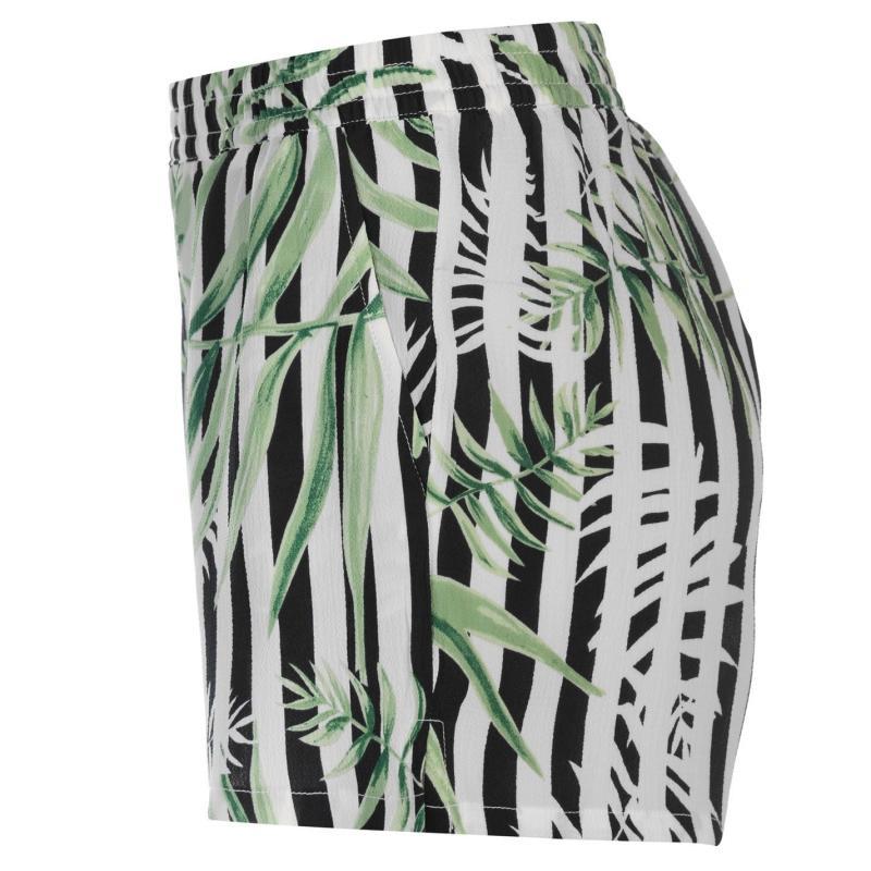 Only Nova Pattern Shorts Jungle Fever