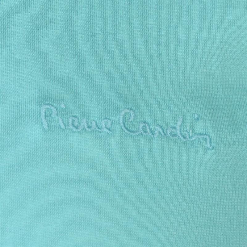 Tričko Pierre Cardin Plain T Shirt Mens Aqua
