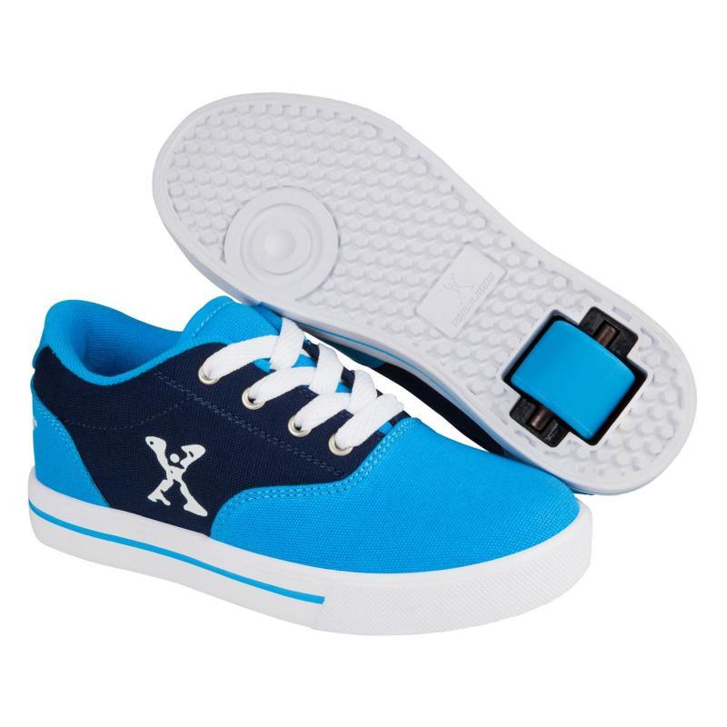 Boty Sidewalk Sport Canvas Childrens Skate Shoes Blue/Navy