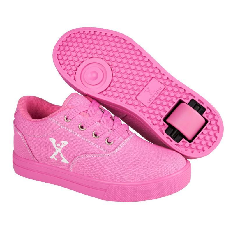 Sidewalk Sport Canvas Girls Skate Shoes Pink