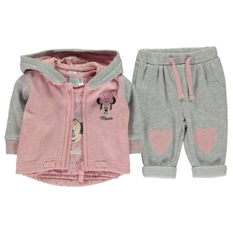 Tepláky Character 3 Piece Set Babies Mickey Mouse