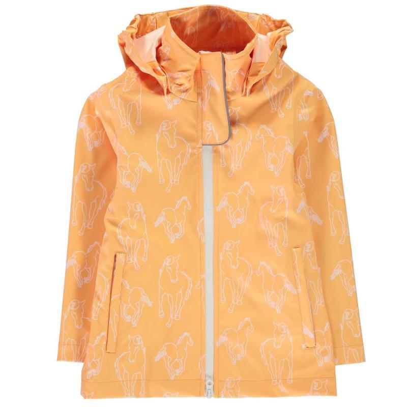Horseware Rain Jacket Junior Girls Apricot