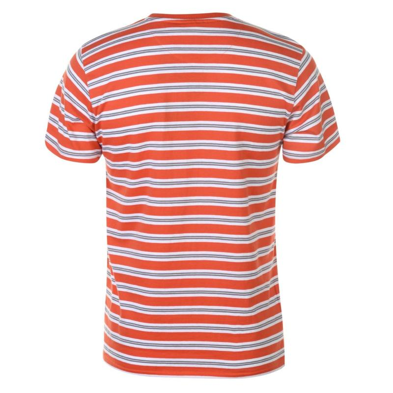 Tričko Pierre Cardin Stripe T Shirt Mens Blue