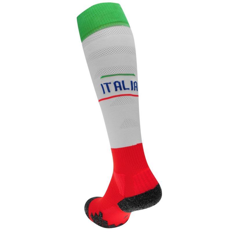 Puma Italy Away Socks White/Blue