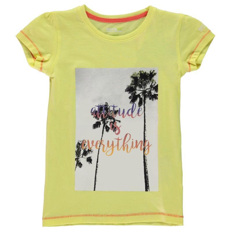 Tričko Regatta Bosley T Shirt Juniors Lime Fizz
