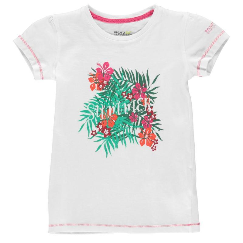 Tričko Regatta Bosley T Shirt Juniors Navy