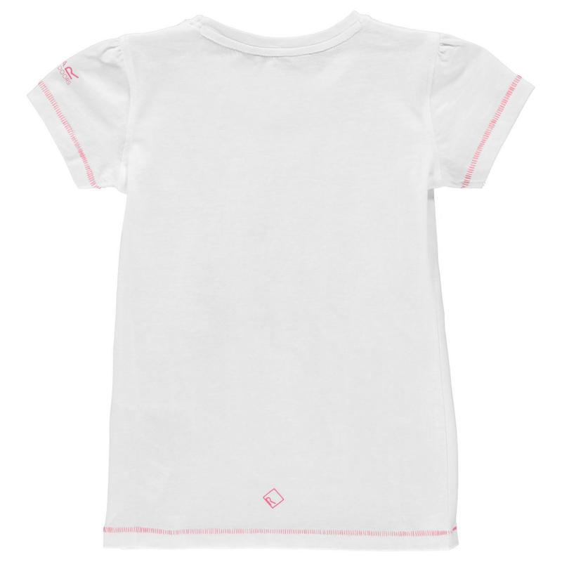 Tričko Regatta Bosley T Shirt Juniors White
