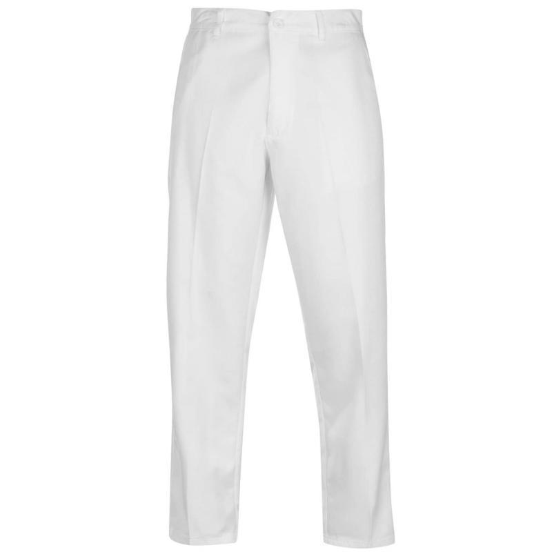 Kalhoty Slazenger Golf Trousers Mens White