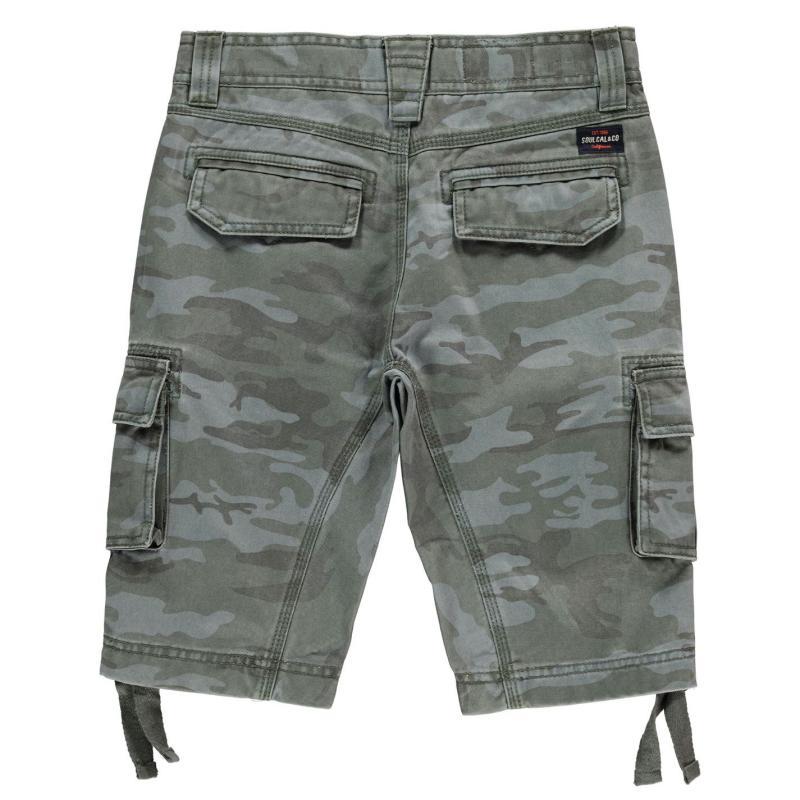 Kraťasy SoulCal Utility Shorts Junior Boys Navy