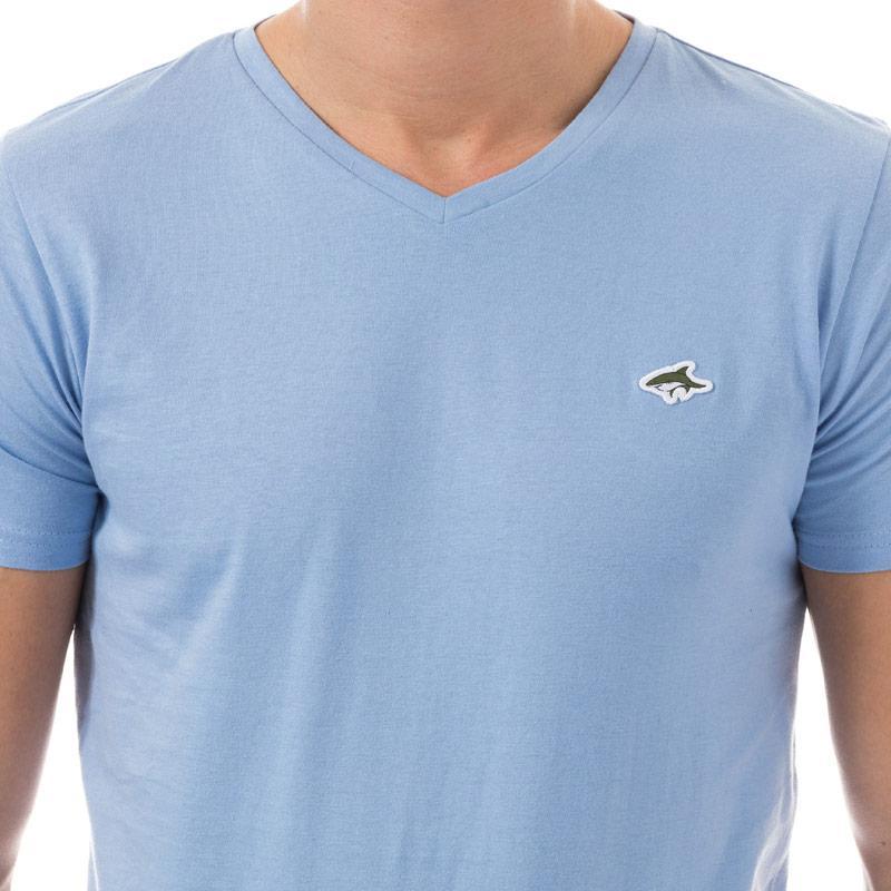 Tričko Le Shark Mens Kensal V-Neck T-Shirt Blue