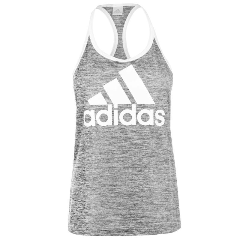 Adidas HI5 Logo Tank Top Ladies Black/White