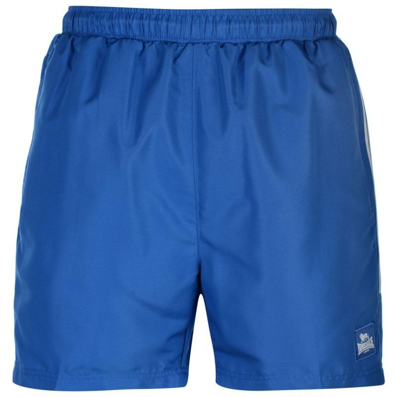 Lonsdale 2 Stripe Woven Shorts Mens Blue/BrBlue