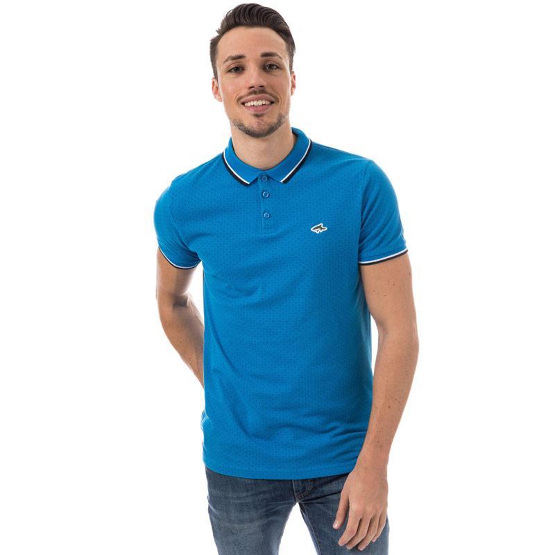 Le Shark Mens Crossley Polo Shirt Blue