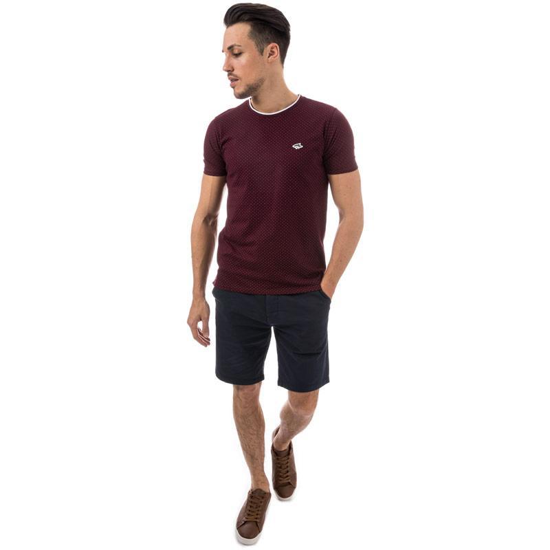 Tričko Le Shark Mens Kingward T-Shirt wine