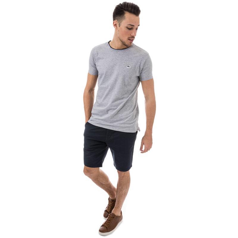 Tričko Le Shark Mens Kingward T-Shirt Grey Marl